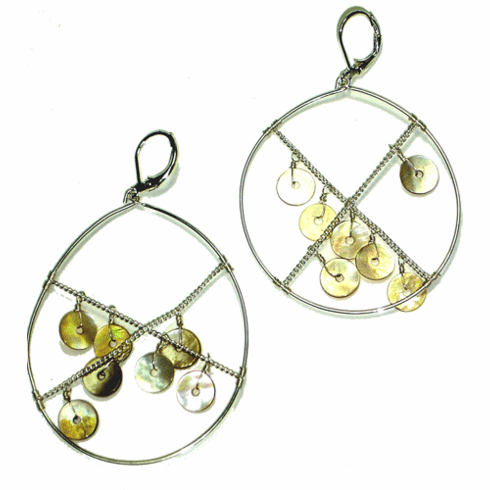 Lydell NYC Dream Catcher Earrings