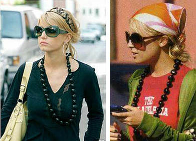Nicole Richie and Jessica Simpson's Kukui Bead Necklace