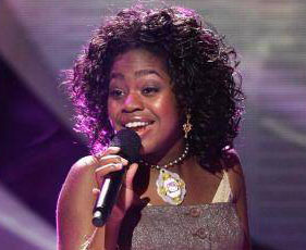 Paris Bennett from American idol in Tarina Tarantino