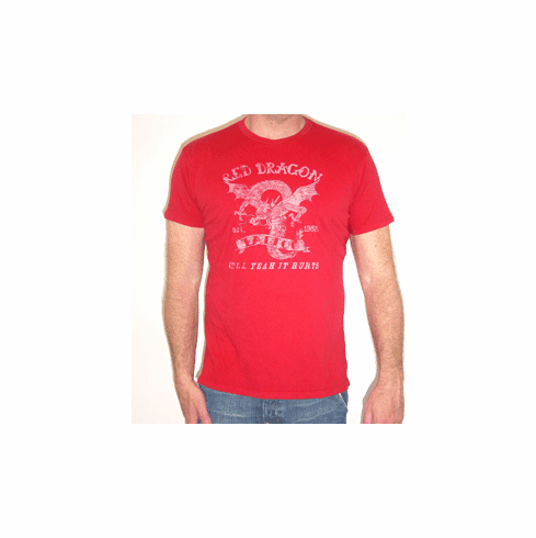 Project E Men's Red Dragon Tee