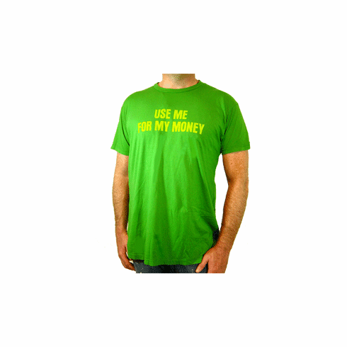"Project E ""Use Me For My Money"" Tee"
