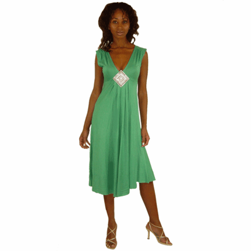Sweetees Emerald Green Michalle Dress