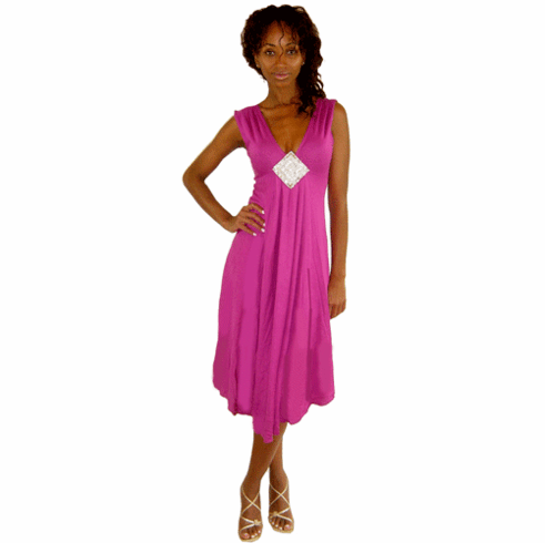 Sweetees Fuchsia Michalle Dress