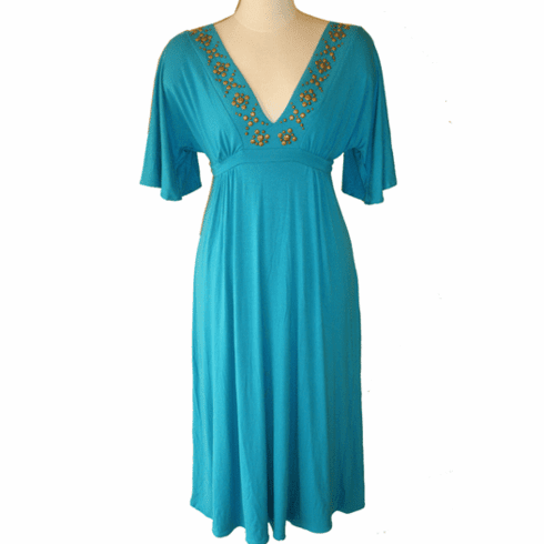 Sweetees Siouxsie Dress (Turquoise)