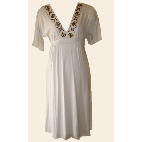 Sweetees Siouxsie Dress (White)