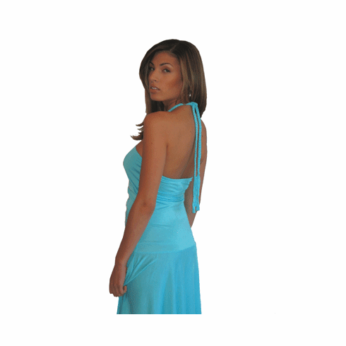 "Sweetees Turquoise ""Aiyana"" Dress"