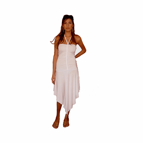 "Sweetees White ""Aiyana"" Dress"