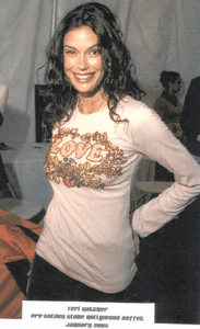 Teri Hatcher in Rock Solid Love Shirt