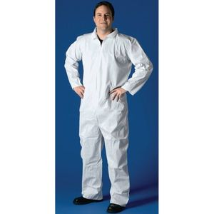 Buffalo SMS Disposable Coverall Non Hooded, Lg Mfg#68527