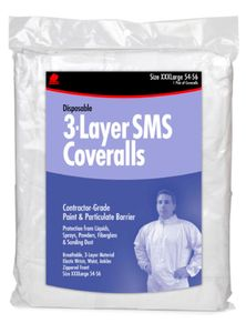 Buffalo SMS Disposable Coverall Non Hooded, XLg Mfg#68528
