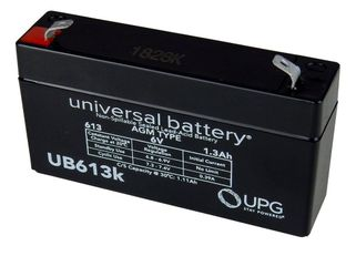 6V 1.2AH SLA Battery