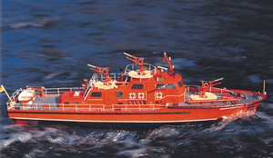 Dusseldorf Fire-Fighting Boat Kit