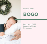 <b>Buy One Get One Free</b> Pillow Factory Legacy II Down and Feather Pillow