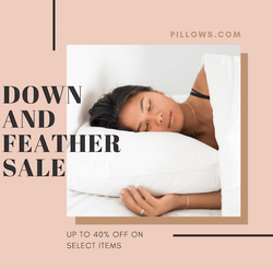 Down & Feather Sale!