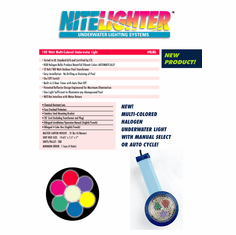 Color Changing Night Lighter Pool Light