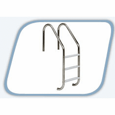 Economy 3 Step Ladder with S.S. Treads