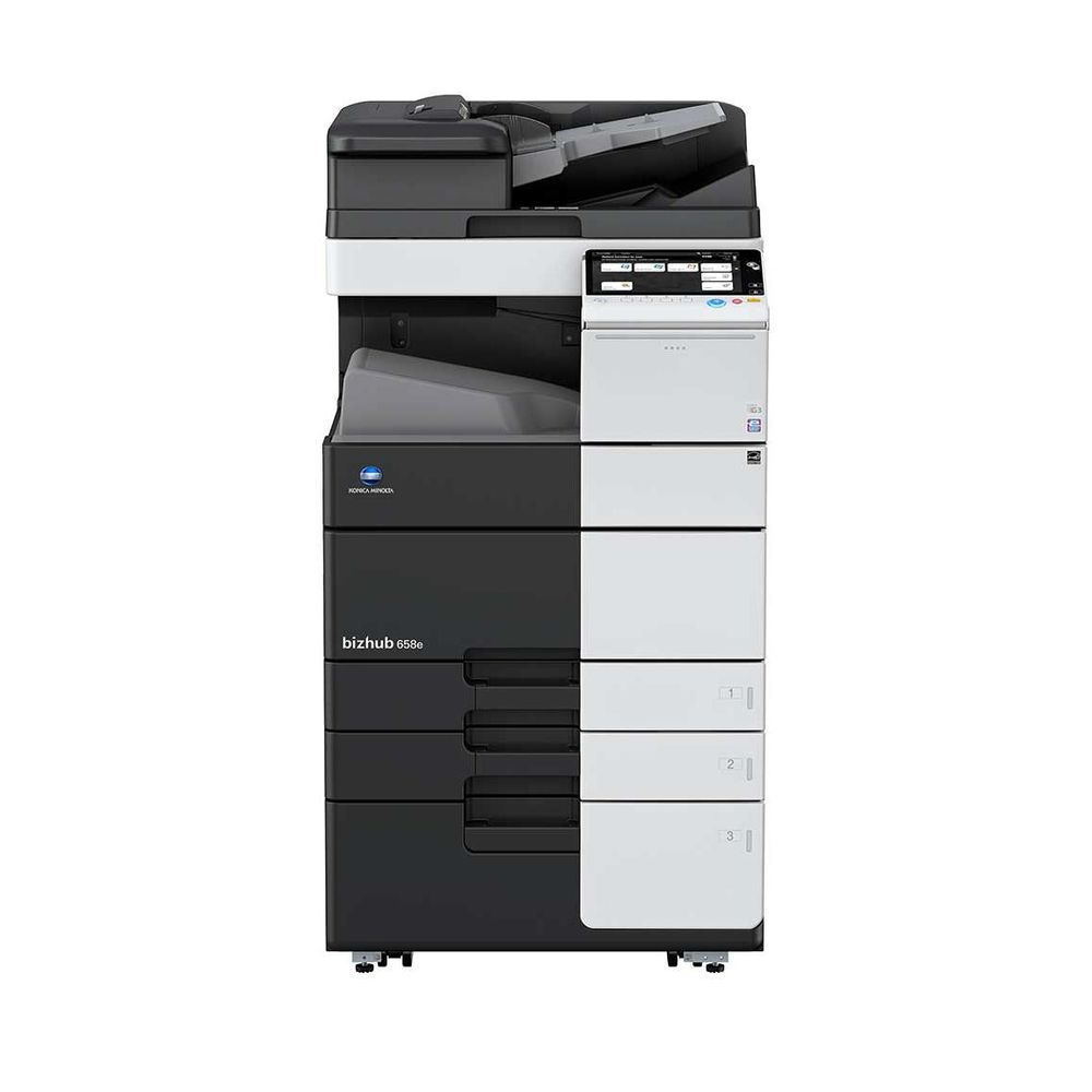 Refurbished Konica Minolta bizhub 458e Multifunction Monochrome Copier