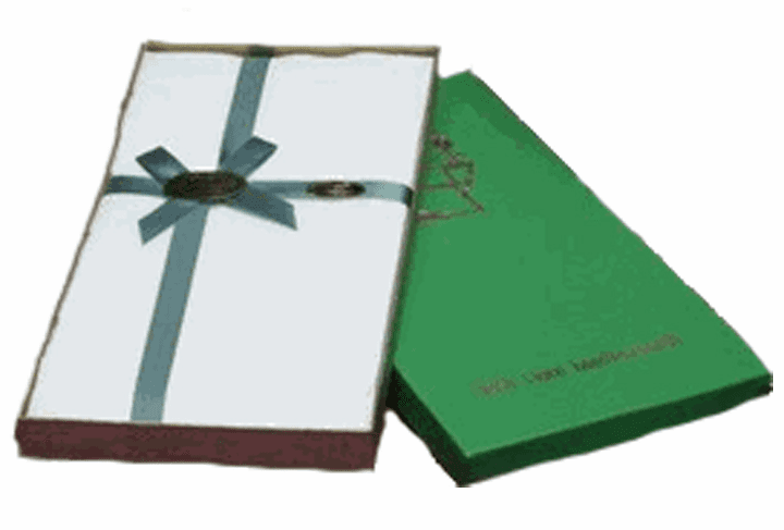 3 Men's Irish Linen Handkerchiefs - Gift Boxed Set