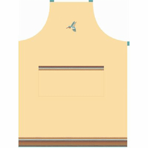 Adult's Southwest Hummingbird Design Full Size Apron