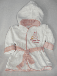 Baby Girl Personalized Robes