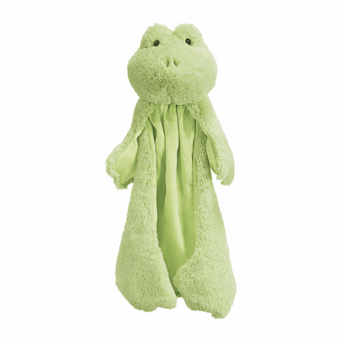 Baby Gund Frog Huggybuddie Soft Cuddly Infant Security Blanky