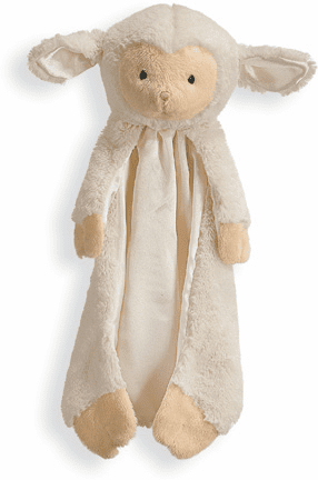 Baby Gund Lamb Huggybuddie Soft Cuddly Infant Security Blanky