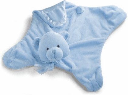 Baby Gund My First Teddy Blue Comfy Cozy 58893