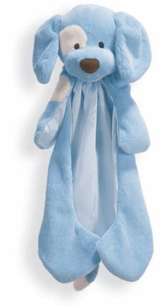 Baby Gund Spunky Huggybuddie Soft Cuddly Infant Security Blanky