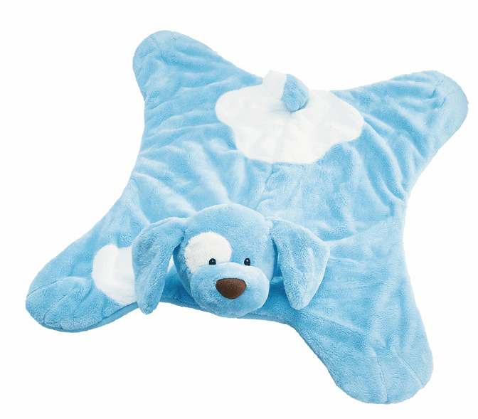 Baby Gund Spunky Puppy the Blue Comfy Cozy 58490