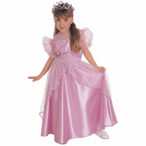 Beautiful Pink Princess Gown Dress-Up, Play Pretend