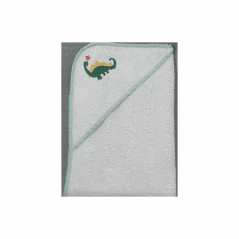 Child or Infant 100%Terry Cotton Hooded Towel (Dinosaur) Personalize Me