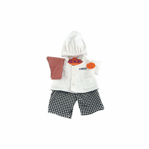 Complete Chef Outfit Plush or Doll Clothing
