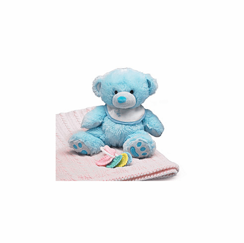 Daniel the Baby Blue Newborn Bear Personalize with Embroidery