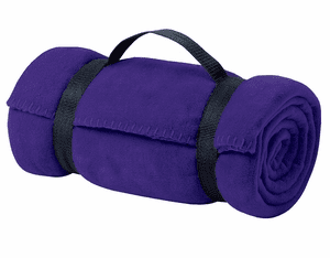 Personalized Fleece Value Blanket with Strap