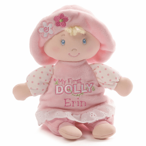 Gund First Dolly Small Size Blond Hair Blue Eyes