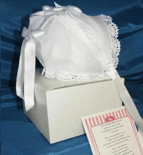 Handkerchief Christening Bonnets
