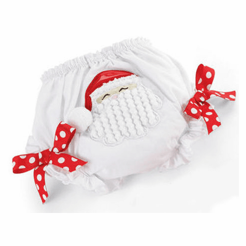 Holiday Santa Fancy Pants Diaper Cover