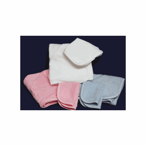Infant  Hooded Towel and Washcloth Personalize with Embroidery