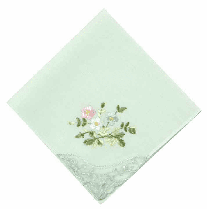 Ladies' Pastel Colored Handkerchiefs