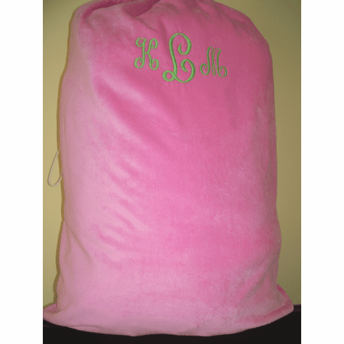Laundry Bag-Terry Velour Personalization Option