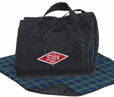 Personalized Lined Fleece Stadium Picnic Blankets