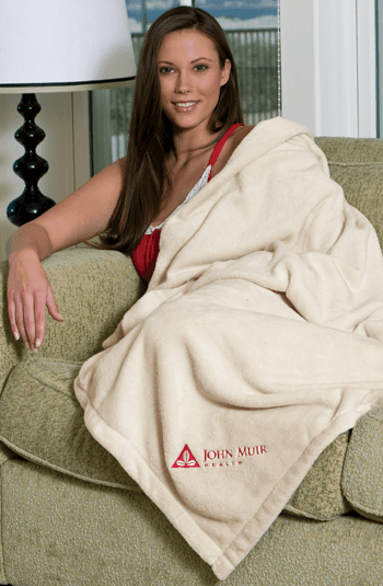 "Personalized Oversize Tahoe Micro Fleece Blanket Throws 50"" x 70"""