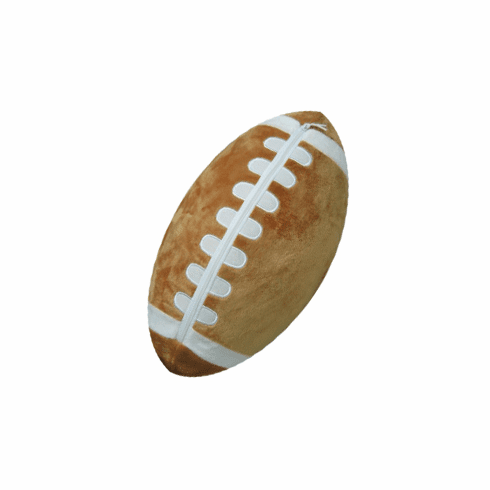 Personalizeable Sports Pillow - Football PERSONALIZE ME
