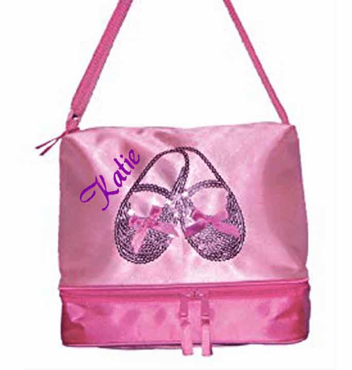 Personalized Dance Bag SATIN & SEQUINS GEAR TOTE 3402 Horizon Dance