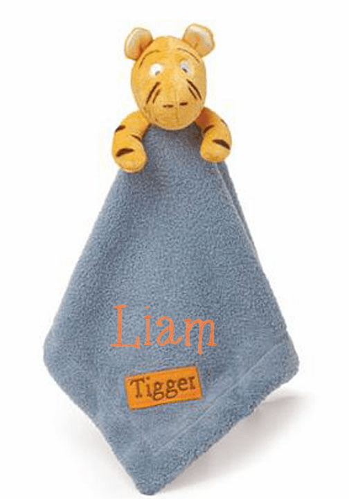 Personalized Disney's Classic Tigger Super Soft Security Banket