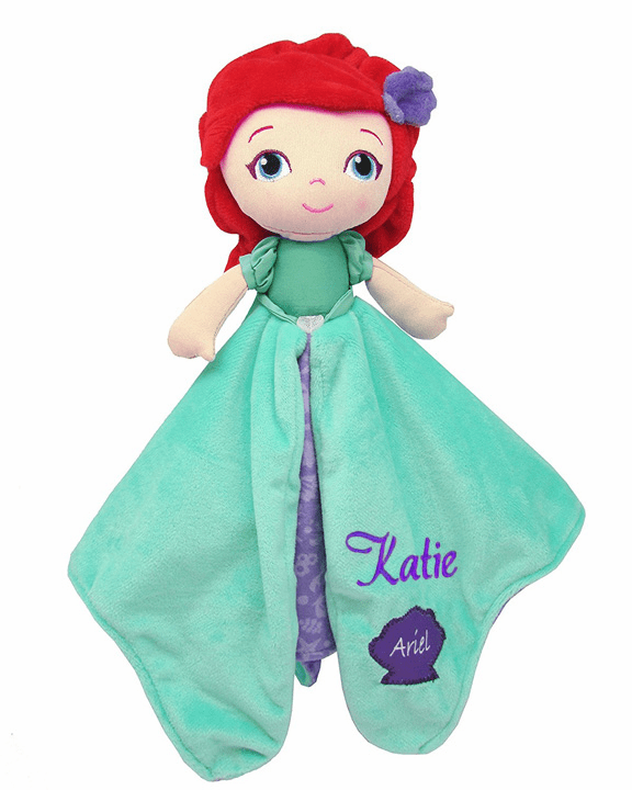 PERSONALIZED Disney's Princess Ariel Security Snuggle Blanket