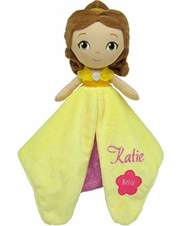 PERSONALIZED Disney's Princess Belle Security Snuggle Blanket