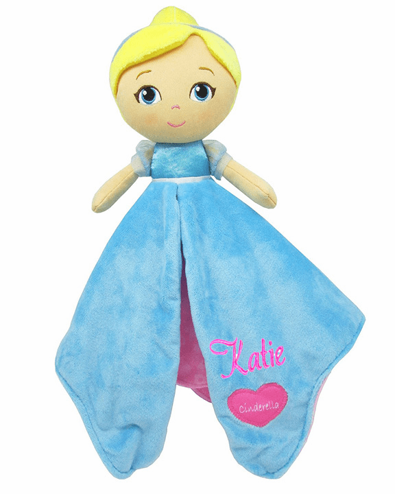 PERSONALIZED Disney's Princess Cinderella Security Snuggle Blanket