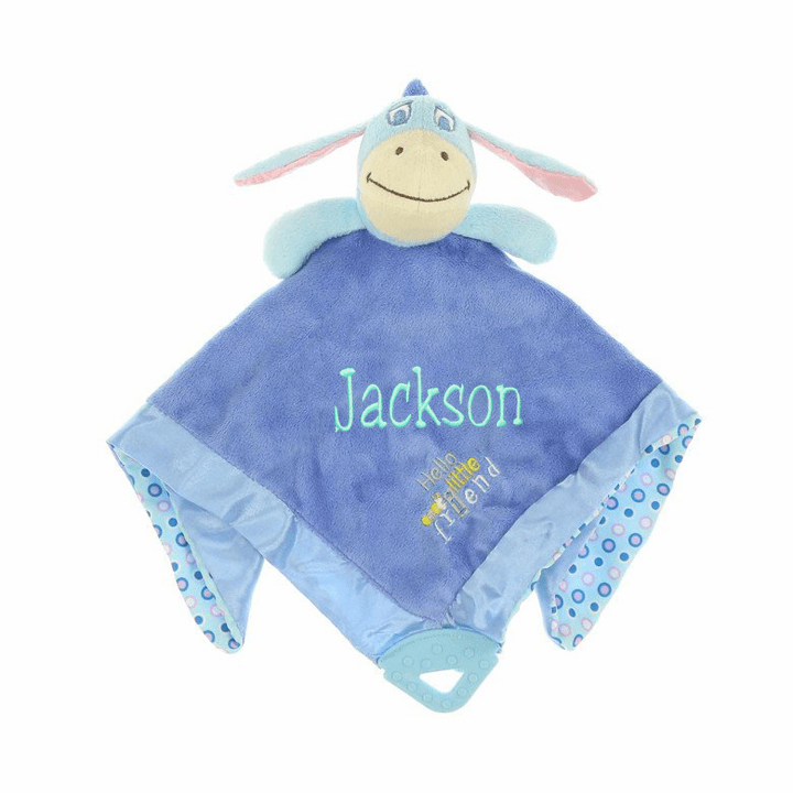 "Personalized Disney's Winnie the Pooh ""Eeyore"" Snuggly Blanket"