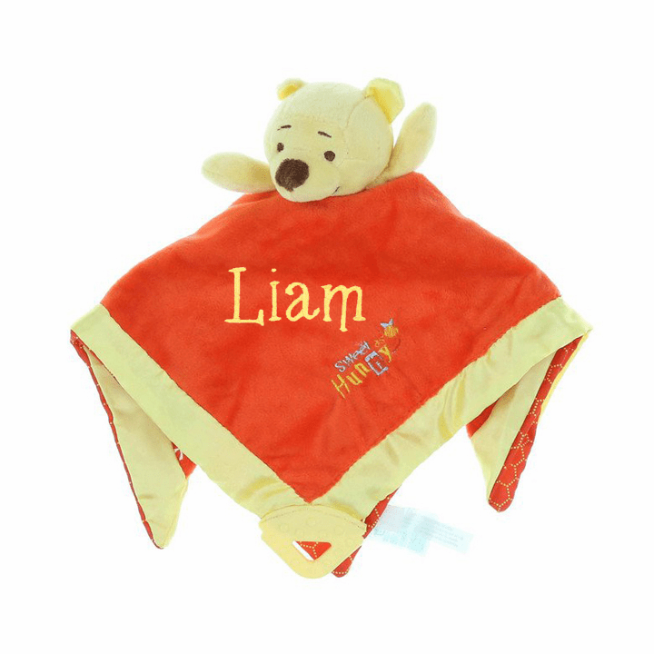 "Personalized Disney's Winnie the Pooh ""Pooh Bear"" Snuggly Blanket"